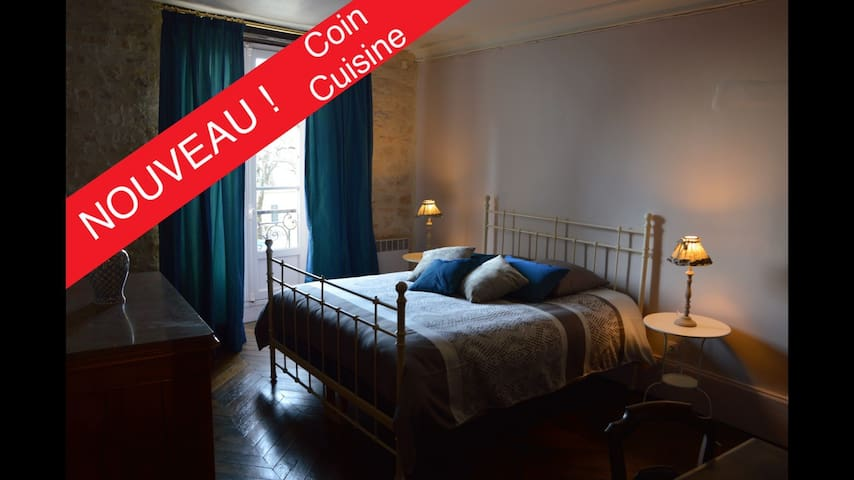 Elegant 2-bedroom apartment in central Vezelay