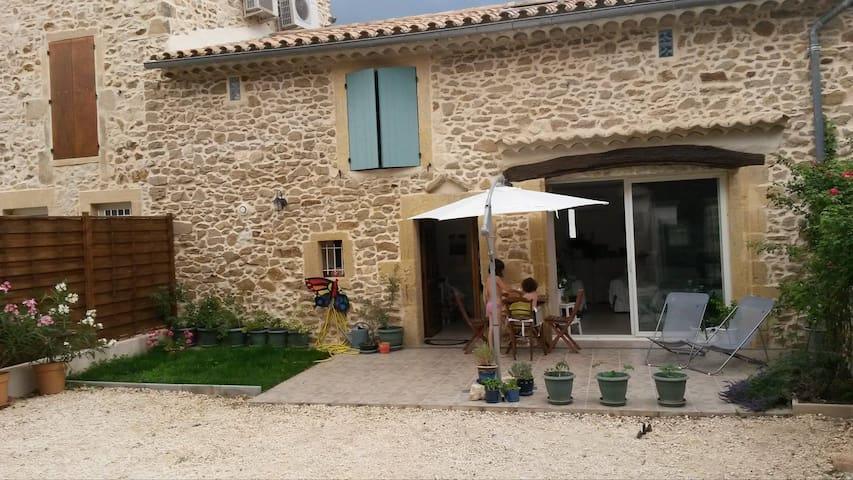 South of France, near Pont-du-Gard - Saint-Paul-les-Fonts - House