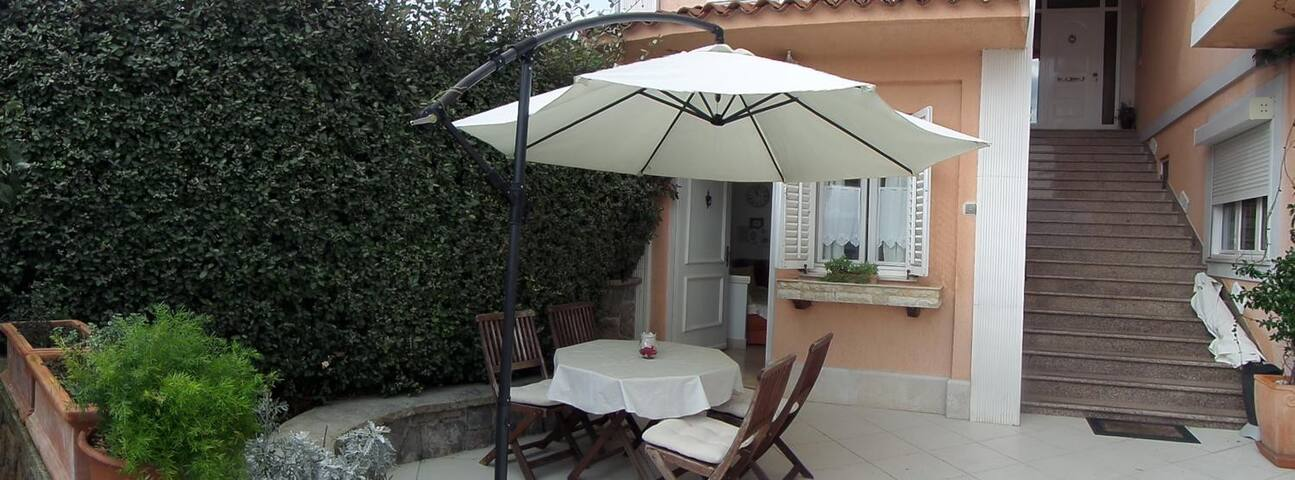 One bedroom apartment with terrace and sea view Lovran, Opatija (A-14178-a)