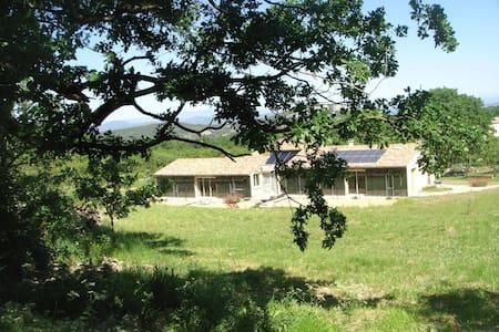 Logement pour les zen et eco-responsables - Bouquet - Earth House