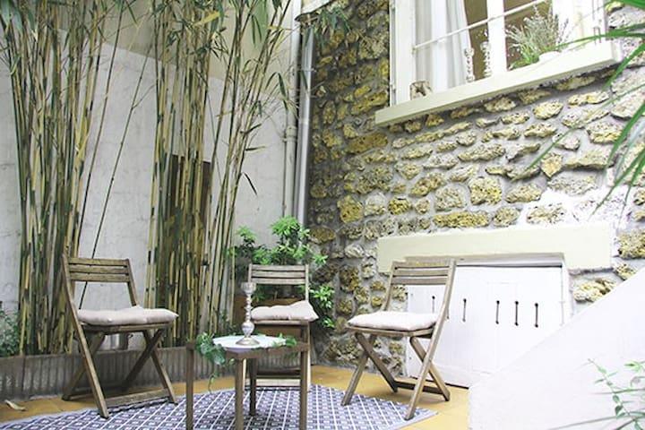 Magnifique petite maison à Paris