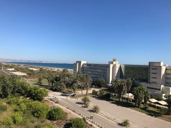 Saler playa apartamento Parque Natural de Albufera