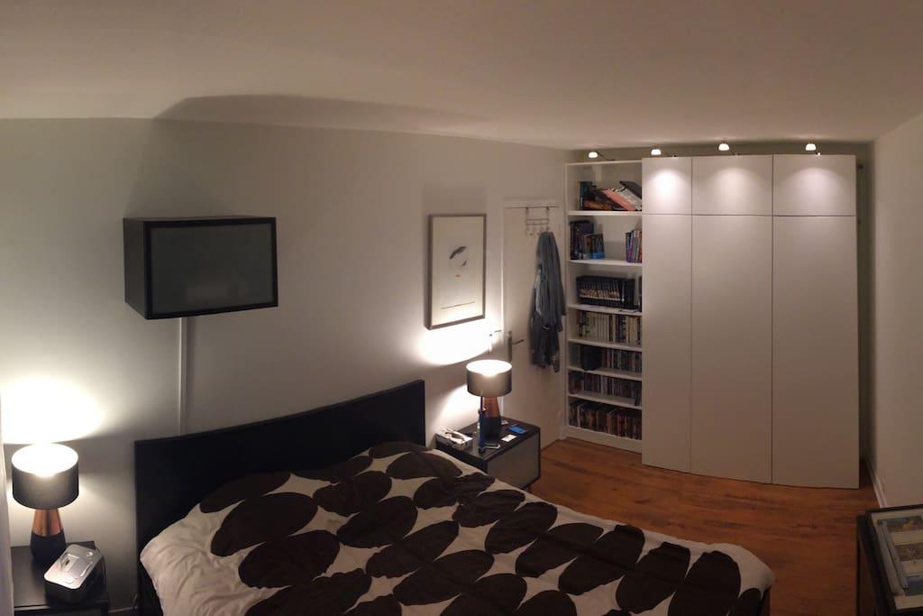 Chambre 1 : Lit 160x200