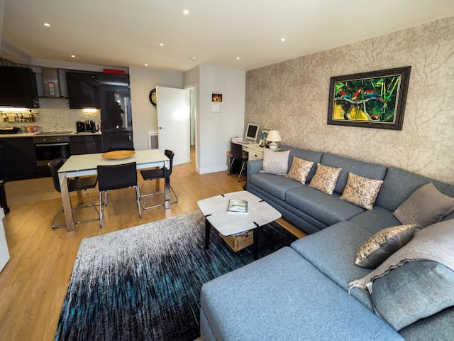 Comfortable brand new 2 bed/2bathroom apartment - Tring - Apartment