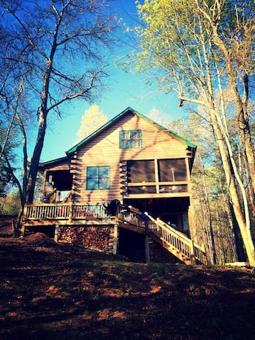 Luxury Private-Lake Front Cabin - Morganton - Kisház