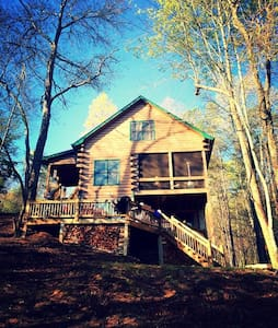Luxury Private-Lake Front Cabin - Blockhütte
