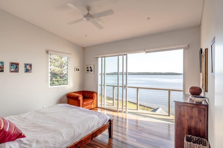 Upstairs Lake View Room