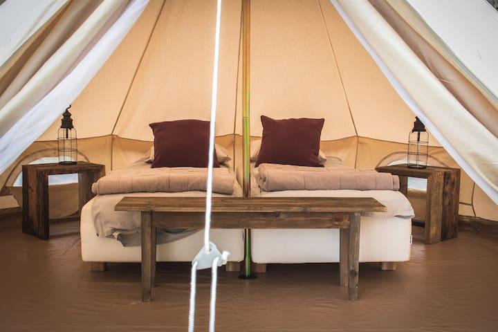 Kemiönsaari glamping tent