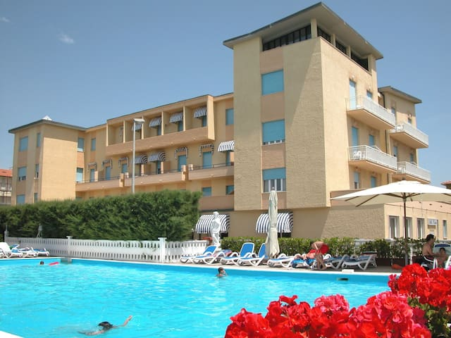 Studio for 2+1 persons with pool R51361