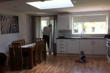 Spacious family home with garden - House