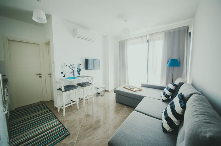 Design Apartment next to the Beach, North Cyprus