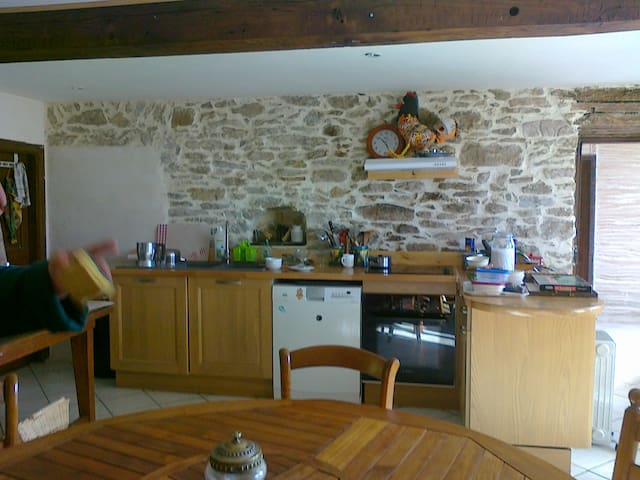 Maison villageoise familiale - Brousses-et-Villaret - Rumah