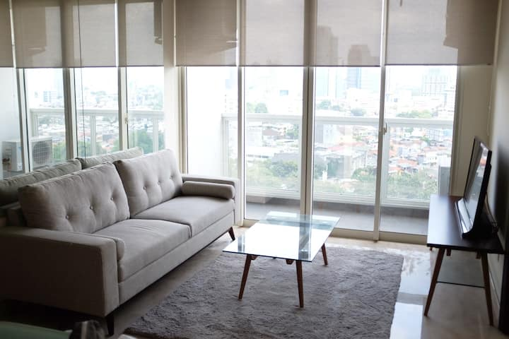 *In The Heart of Jakarta* 2BR Modern Apartment