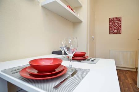 Cosy and beautiful apartment in Old Aberdeen - Aberdeen - Lägenhet
