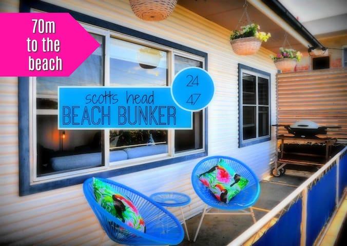 Scotts Head Beach Bunker