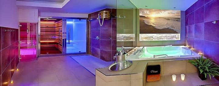 Rent the private sauna