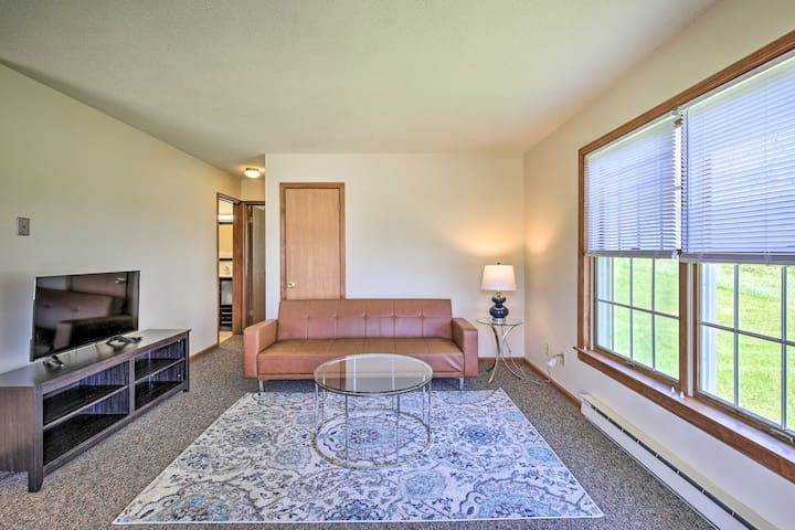 NEW! Peaceful Family Condo w/Deck + Mountain View!