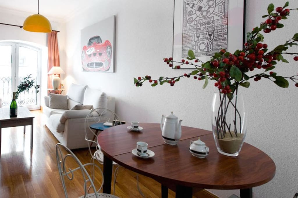 You can buy most of the pieces from the apartment. You can simply discuss it with us, Luis & Terese; we live nearby and take your personal souvenir from one of your Airbnb experiences ever. Now how cool is that?