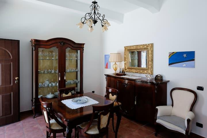 Restored village house near Tropea