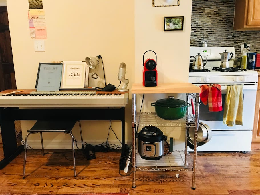 kitchen and keyboard