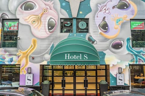 (長住短租)澳門藝舍 Macao Hotel S - 澳門文化藝術酒店