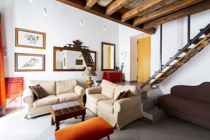 loft in the heart of the old town