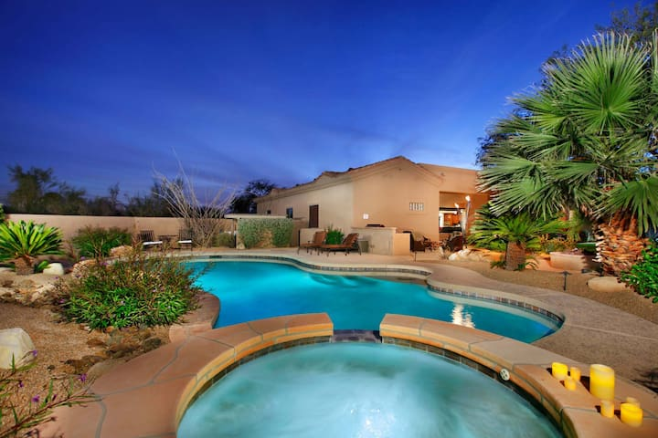 New Listing Very Private Resort Style backyard