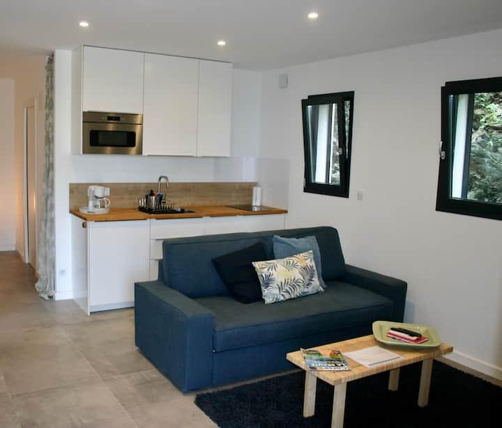 Appartement indépendant terrasse proximité plage