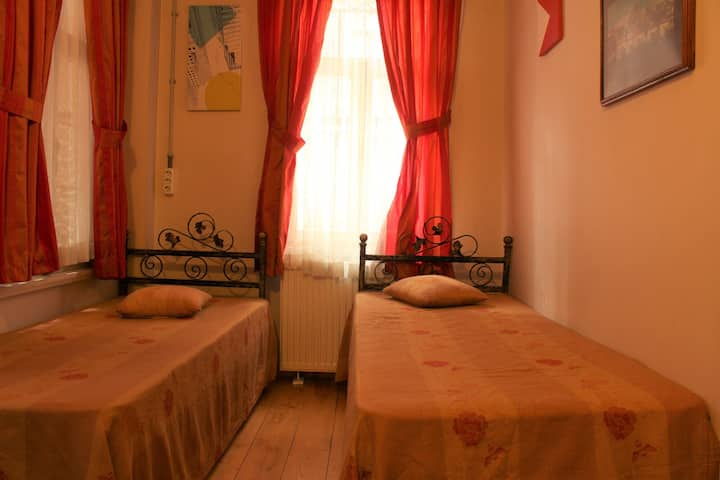 Cozy Room in Authentic House in Taksim, Beyoglu