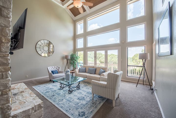 Executive Home with Hill Country Views