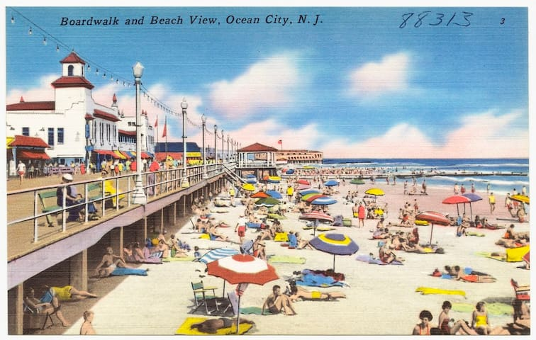 On the BEACH block & 8th Street!!----Ocean City NJ