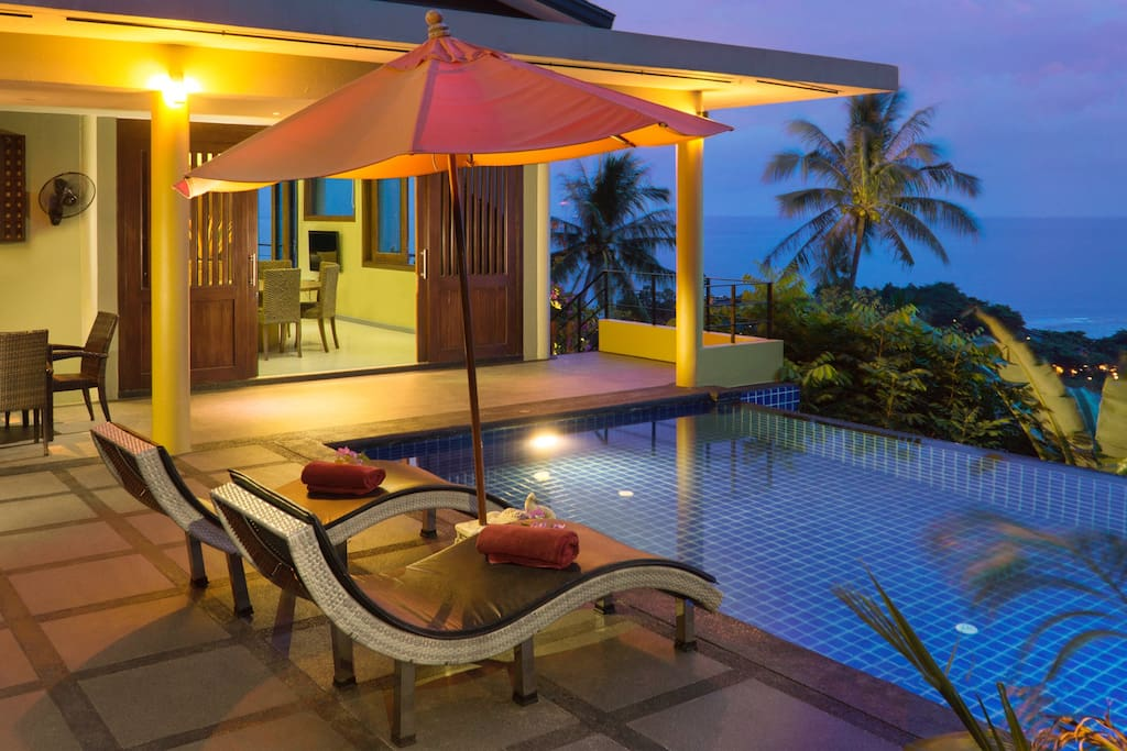 Ideal villa for couples