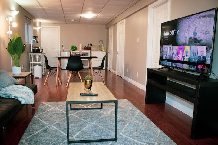 Private Spacious Downtown Suite