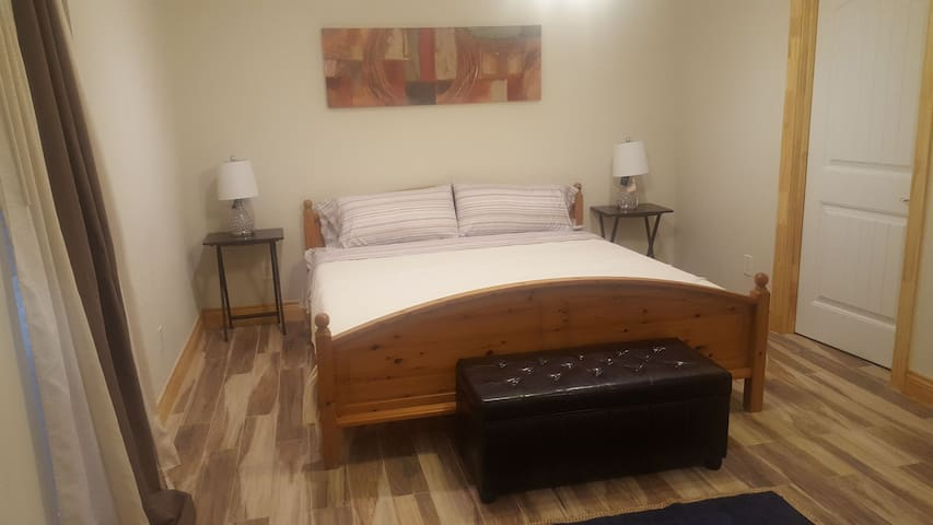 """Private """"Suite"""" in a beautiful house and area."""