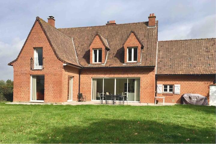 Belle propriété calme proximité Lille et Belgique