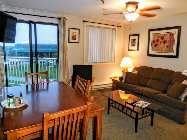 ML328 1BR/1BA SlopeView Wi-Fi PARKING Great Location!