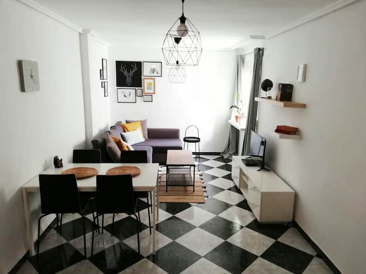 Cozy apartment near to the Oceanografic(Renovado)