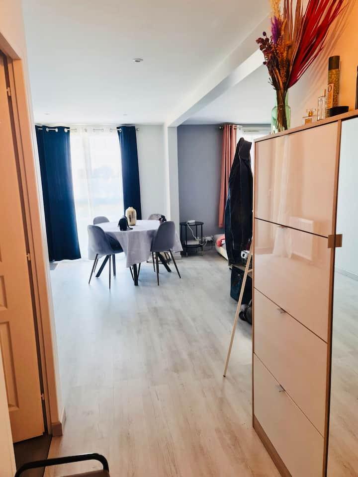 Bel appartement pour l'escale et long séjour