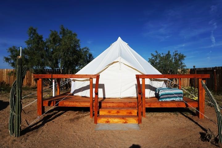 JT High Desert Hideout- Luna Bell Tent