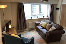 The Bankhouse Mews - Open plan Living Room with Dining Area