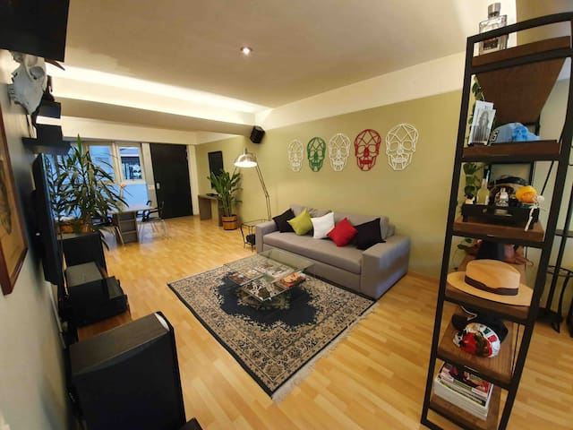 Condesa's green view loft with luxurious amenities