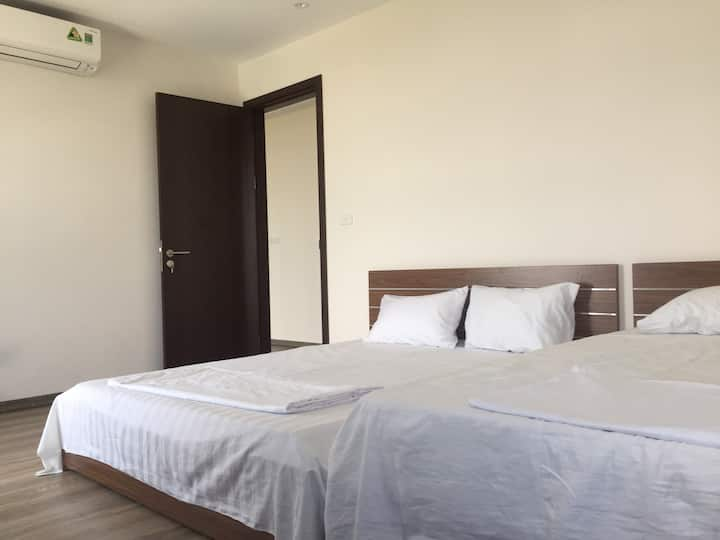 2-bed shared room & pool near Aeon, 15' to centre