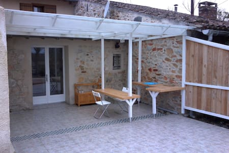 Studio en pleine campagne - Lagardiolle - Huoneisto