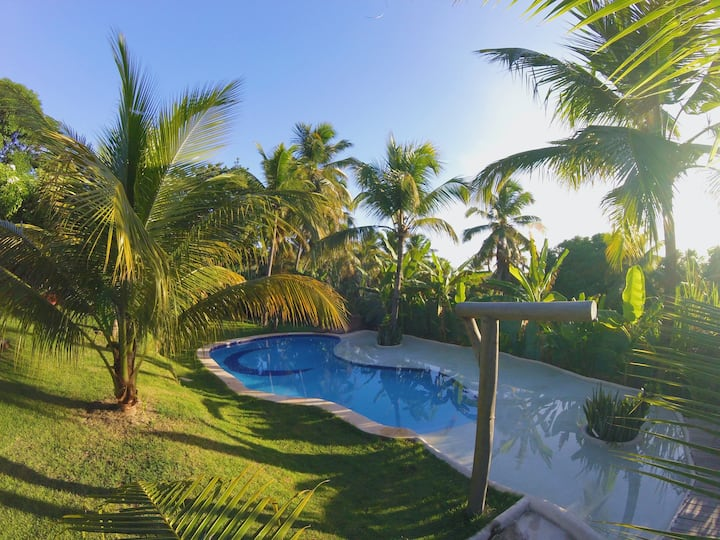 Spa da Floresta - 6 suítes independentes e piscina
