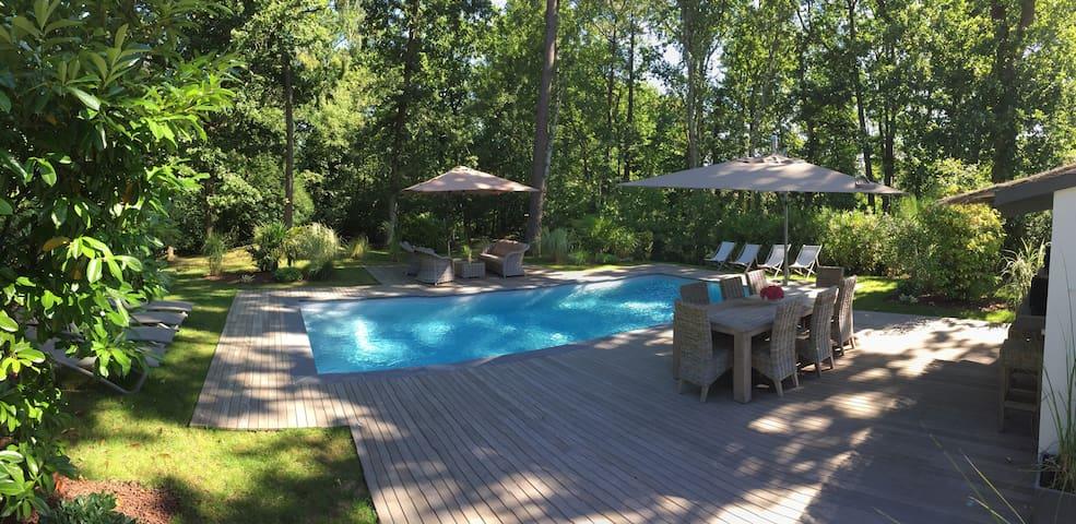 Chambre 40 m² dans Villa en Forêt - Le Touquet-Paris-Plage - Bed & Breakfast