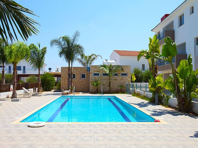 2 Bedroom Apt. with pool near Ayia Napa & Protaras - Paralimni - Departamento