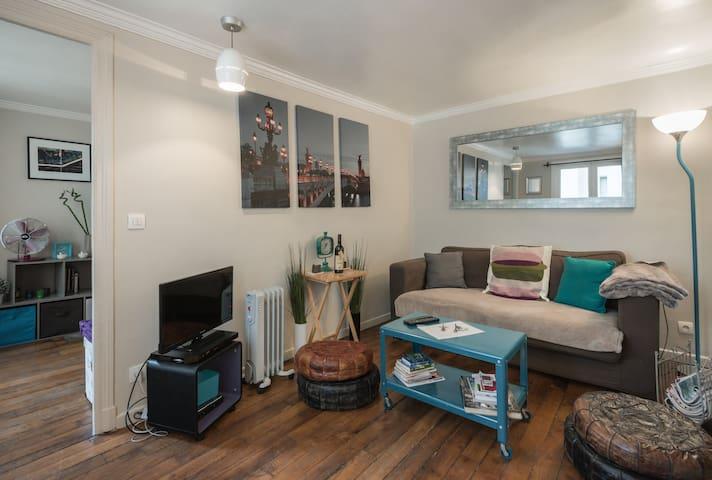 Cozy 1-bedroom in the Marais