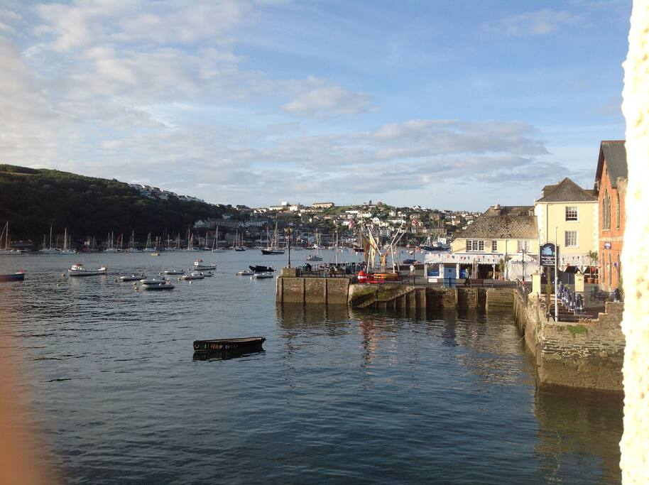 Town Quay, Fowey Harbour