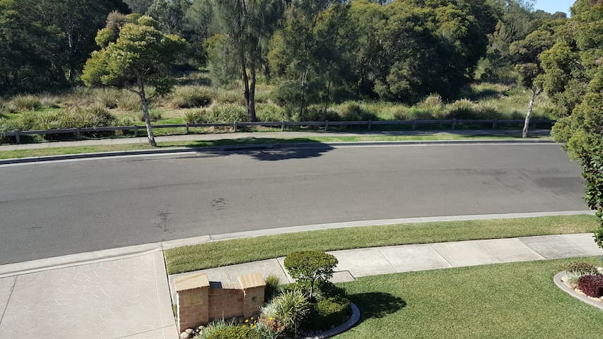 VERY QUIET STREET, PLENTY OF FREE ONSTREET PARKING WITH BUSHLAND ACROSS THE ROAD