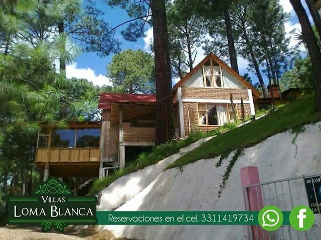 Cabaña Grande de Villas Loma Blanca - Mazamitla - Huis